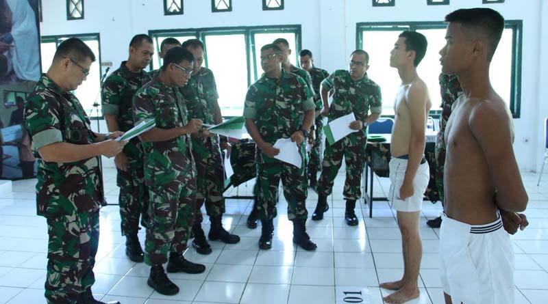 Danrem 012/TU Pimpin Sidang Subpanda Secata PK TNI AD