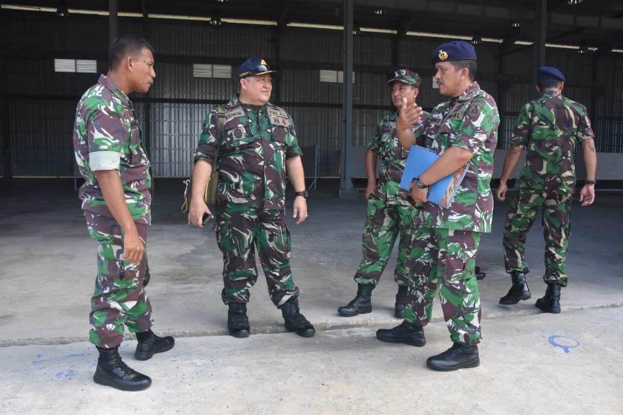 Danrem Cek Kesiapan Lokasi Bhaksos HUT TNI KE-73 di Kota Sabang.