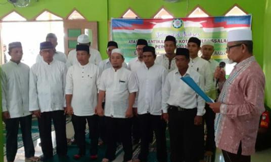 Zainal Abidin Dilantik Jadi Ketua Dewan Dakwah Kota Subulussalam