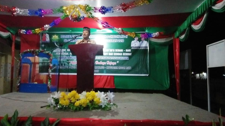Gampong Cot Kuta Gelar Festival Anak Sholeh