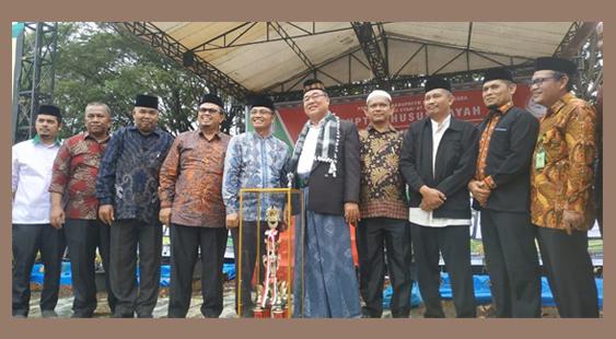 Ponpes Darul Iman Raih Juara Umum di Ajang Kreativitas Santri Agara 2019