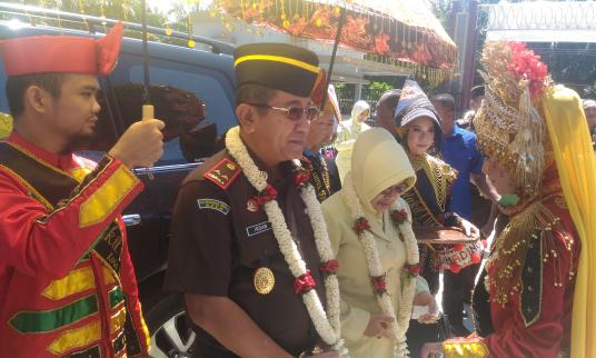Kajati Aceh Resmikan Kantor Kejari Kota Subulussalam