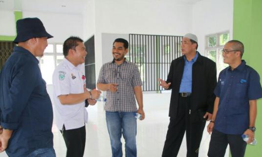 Pansus DPRA Temukan Atap Masjid Agung Kota Subulussalam Bocor