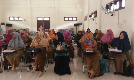 Tingkatkan Kemampuan 55 Guru SMP Nagan Raya Ikuti Pelatihan Kompetensi