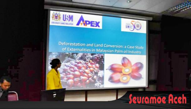Mahasiswa UTU Meulaboh Berbicara di Forum ASEAN Student Conference