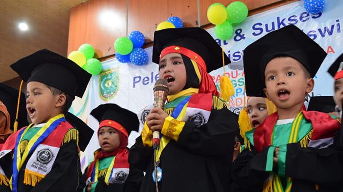 Plt Kadisdikbud, Lepas Peserta Didik TK dan PAUD di Subulussalam